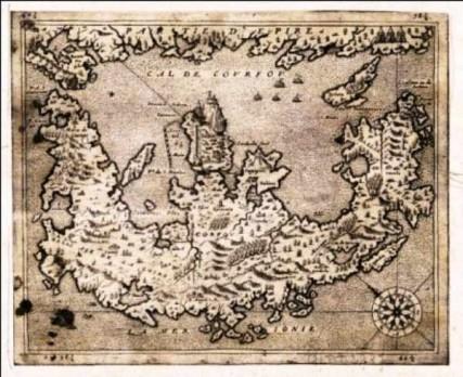 C:usersbatosdestates Κύκλωπας, πολύημι  Πολυημικλογραμμολογοτεχνίαidatiis φωτογραφίες Θεοτός Χάρτης Κέρκυρα 1595. jpg
