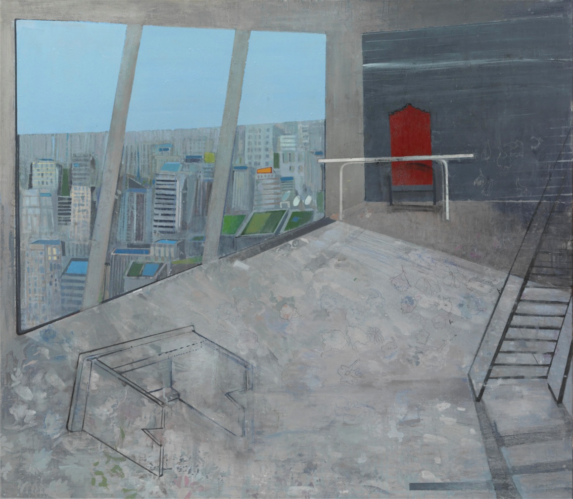 Io Angeli_Astiko topio_130x150 cm_Acrylics on canvas@ZG_rs