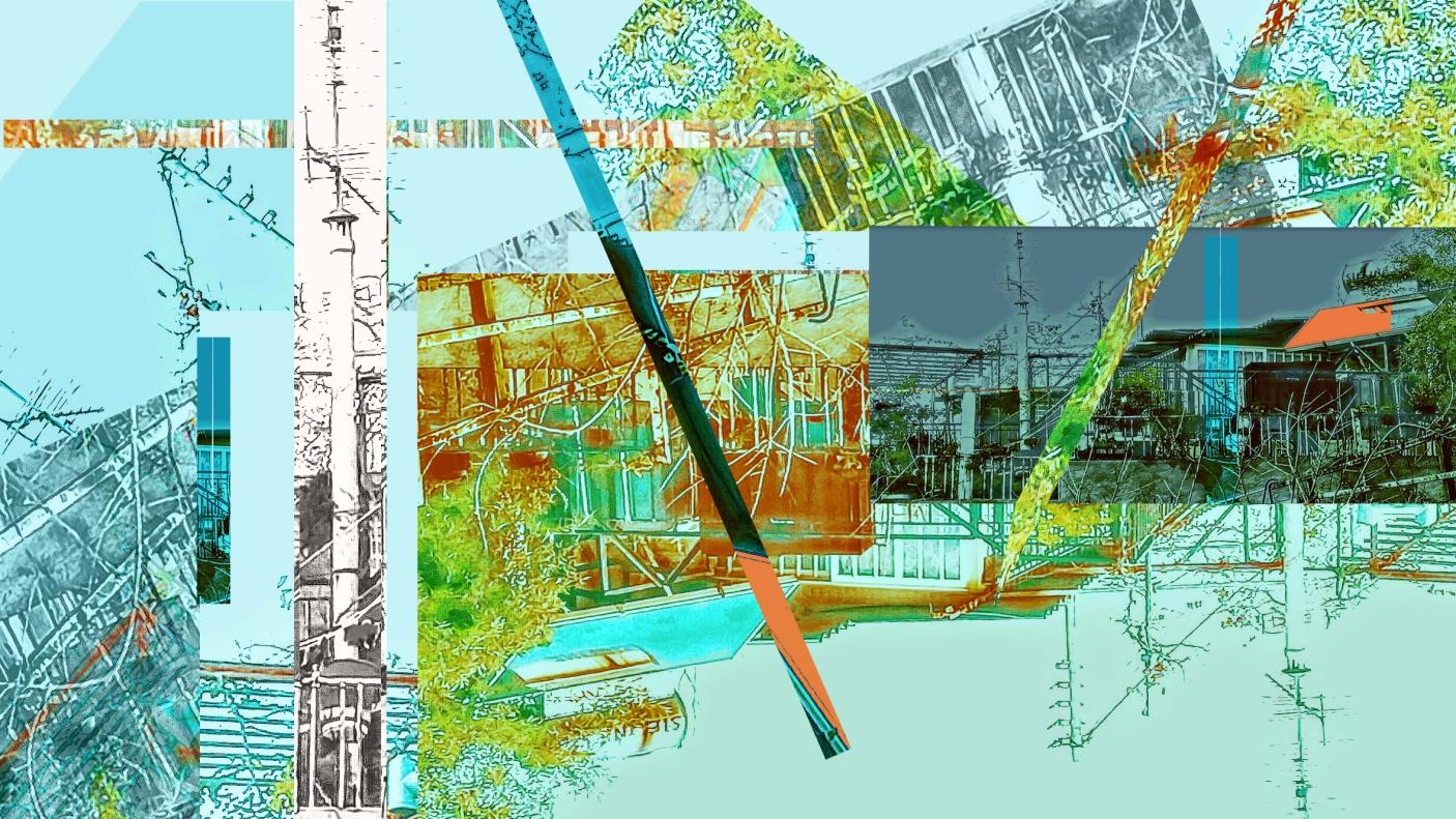 Σπίτια διαδρομές 10Χ20 φωτογραφία κολάζ