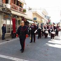 Photo taken at Πλατεία Άγγελου Σικελιανού by Στάθης Κ. Σ. on 4/27/2019
