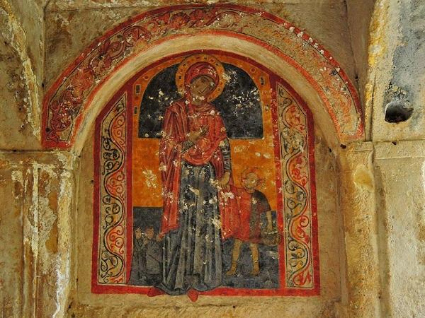 isultati immagini per cripta della candelora Massafra