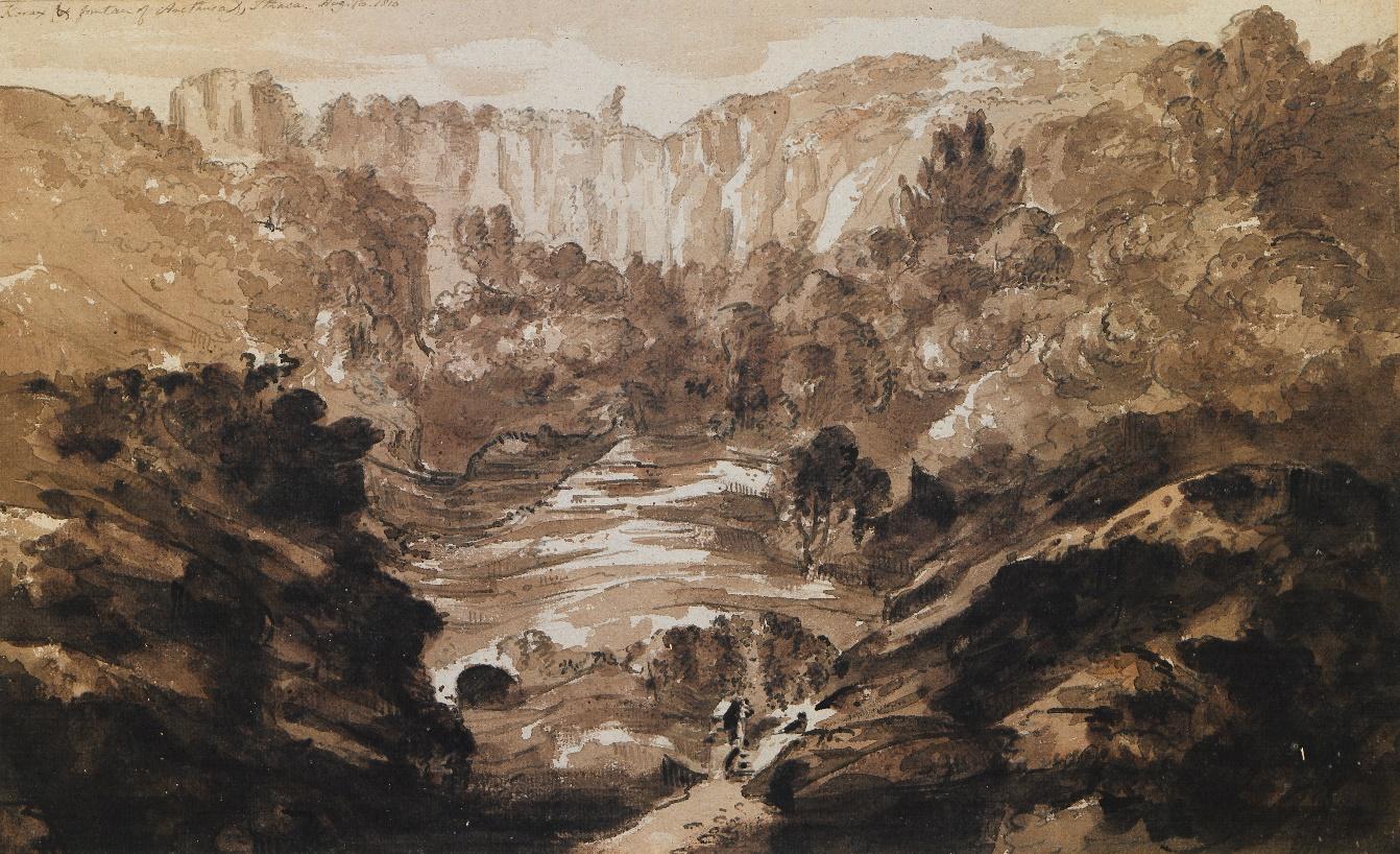 Immagine che contiene roccia, natura, valle, esterni  Descrizione generata automaticamente